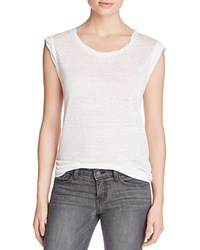 Joie Candella Muscle Tee Porcelain