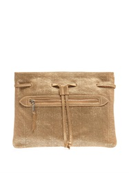 Rochas Coloniale Leather Clutch