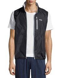 Fila Stand Out Windbreaker Vest Gray