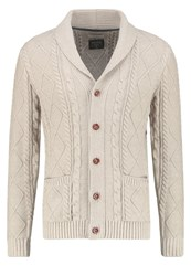 Jack And Jones Jjvjohn Cardigan Oatmeal Off White