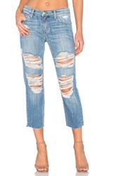 Joe's Jeans Livvy Collector's Edition The Sawyer Crop Light Blue Destroyed