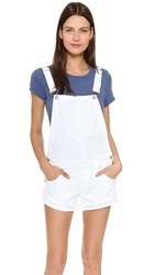 True Religion Shortalls Optic White