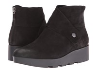 Eileen Fisher Tread Black Tumbled Nubuck Women's Boots