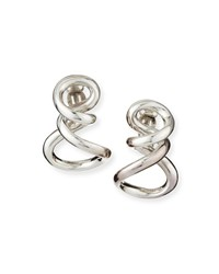 Patricia Von Musulin Sterling Silver Small Infinity Earrings Size S