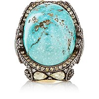 Sevan Bicakci Women's Fancy Diamond And Turquoise Ring No Color