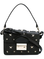 Red Valentino Star Studded Shoulder Bag Black