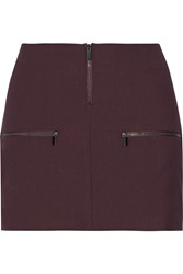 Elizabeth And James Faye Ponte Mini Skirt