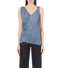 Anglomania Tine Jersey Top Blue