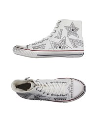 Ash Footwear High Tops And Trainers Men Dove Grey