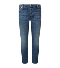 Burberry Relaxed Fit Skinny Jeans Female Denim