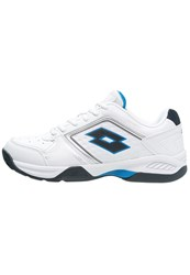 Lotto Ttour Viii 600 Multicourt Tennis Shoes White Blu Aviator