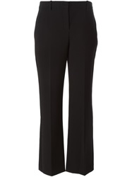 Theory Flared Trousers Black