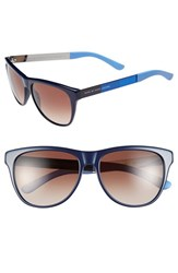 Men's Marc By Marc Jacobs 55Mm Retro Sunglasses Blue