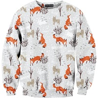 Aloha From Deer What Does The Fox Say Sweater