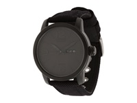 Citizen Bm8475 00F Canvas Strap Eco Drive Watch Black Ion Plated Watches