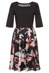 Fenn Wright Manson Scorpio Dress Lily Print Multi Coloured Multi Coloured