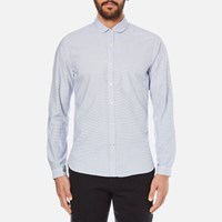 Oliver Spencer Men's Eton Collar Shirt Broadstone Sky