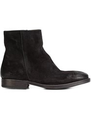 N.D.C. Made By Hand 'Intone' Ankle Boots Black