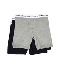 Tommy Hilfiger Cotton Boxer Brief 3 Pack Dark Navy Men's Underwear