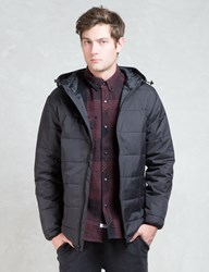 The Hundreds Black Turm Jacket