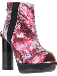 B Store 'Anne 14 Wooley Hole Liberty' Boot Pink And Purple
