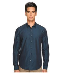 Theory Zack Ps.Crestone Twombly Men's Clothing Blue