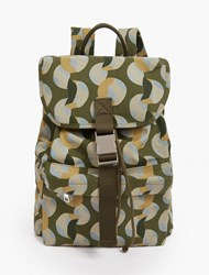 A.P.C. Camouflage Cotton Canvas Backpack