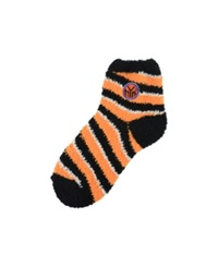 For Bare Feet New York Knicks Sleep Soft Candy Striped Socks Orange Blue