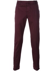 Dondup Slim Fit Chinos Pink Purple