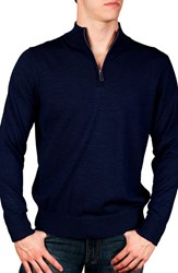 Men's Big And Tall Tailorbyrd Quarter Zip Pullover Sweater
