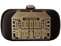 Evening Love Moschino Showroom Clutch Black Clutch Handbags