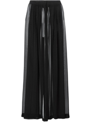 Amen Wide Leg Trousers Black