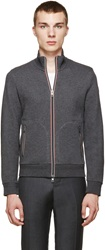 Moncler Grey French Terry Track Jacket