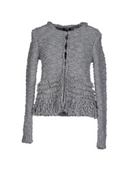 Max And Co. Knitwear Cardigans Women Grey