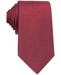 Bar Iii Carnaby Collection Sable Solid Tie Red