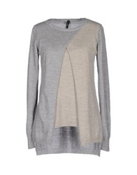 Brebis Noir Sweaters Light Grey