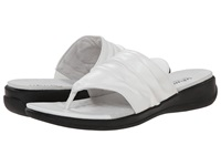 Softwalk Toma White Soft Nappa Leather Women's Sandals
