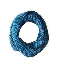 Smartwool Crystal Lake Cowl Glacial Blue Scarves