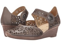 Spring Step Nougat Gray Women's Shoes