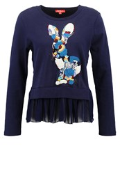 Derhy Illogique Sweatshirt Marine Dark Blue