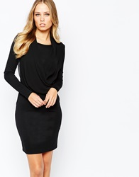 Y.A.S Dreza Longsleeve Dress Black