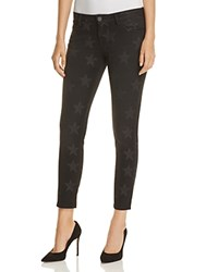 Etienne Marcel Star Print Skinny Jeans In Black Compare At 184