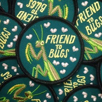 Friend To Bugs Patch By Frogandtoadpress On Etsy