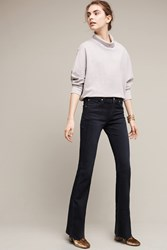Anthropologie James Jeans Bella Low Rise Petite Flare Jeans Denim Dark