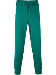 Y 3 Drawstring Waistband Track Pants Green
