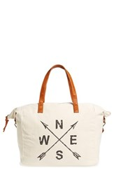 Nu G Slouchy Canvas Overnighter Bag