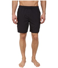 Quiksilver Waterman Balance 6 Elastic Waist Volley Short Black Men's Shorts