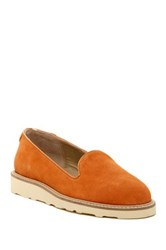 Australia Luxe Collective Grace Smoking Slipper Orange