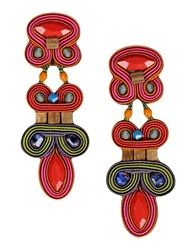 Dori Csengeri Jewellery Earrings Women Red