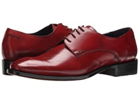 Messico Simon Welt Red Ferrari Leather Men's Flat Shoes